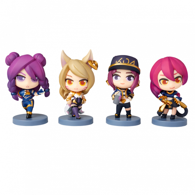 Figurka League of Legends - K/DA Team Set
