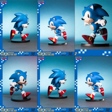Figúrka Sonic The Hedgehog - BOOM8 Series Vol. 2 Sonic (First 4 Figures)