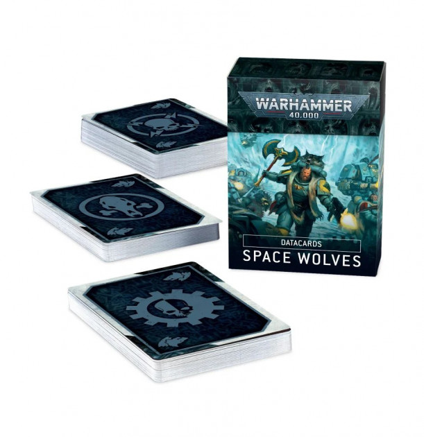 W40k: Space Wolves Datacards (2020)