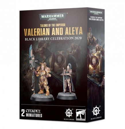W40k: Talons of the Emperor - Valerian and Aleya (2 figurky)
