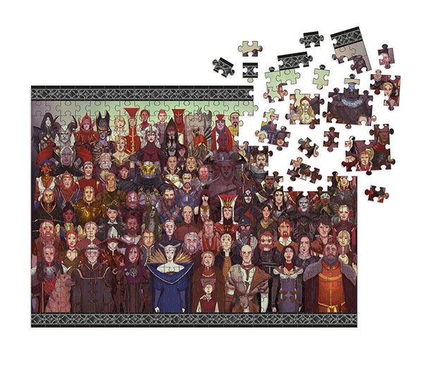 Puzzle Dragon Age - Cast of Thousands