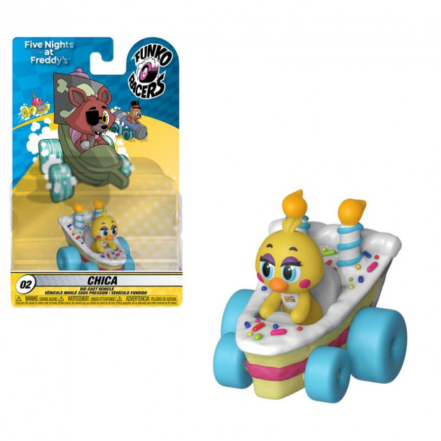 Figurka Five Nights at Freddys - Chica (Funko Super Racers 02)
