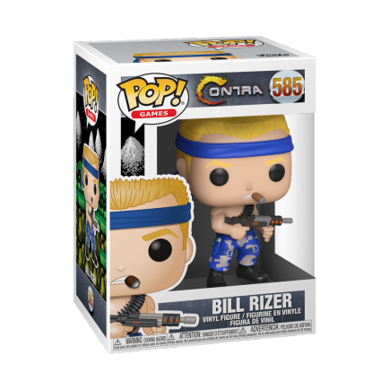Figurka Contra - Bill (Funko POP! Games 585)