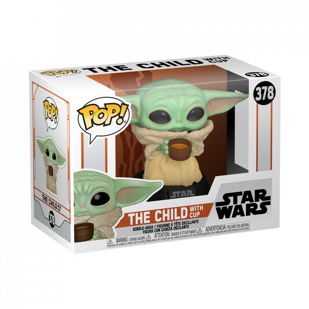 Figurka Star Wars: The Mandalorian - The Child with Cup (Funko POP! Star Wars 378)