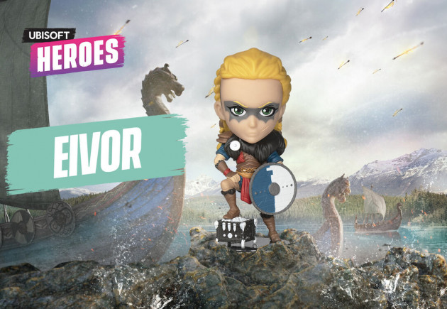 Figurka Assassins Creed - Eivor Female (Ubisoft Heroes 6)