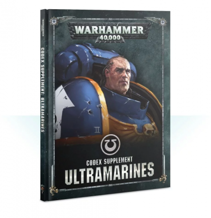 Kniha W40k: Codex: Ultramarines (2019)