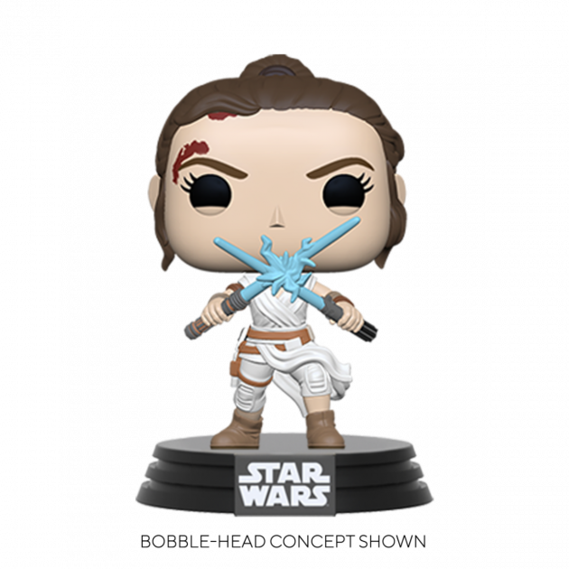 Figurka Star Wars - Rey with Two Lightsabers (Funko POP! Star Wars)