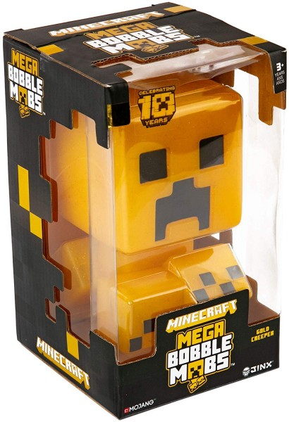 Figurka Minecraft - Bobble Gold Creeper (limitovaný)