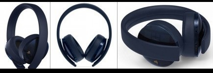 Playstation Gold Wireless Headset - Navy Blue (500M Limited Edition)