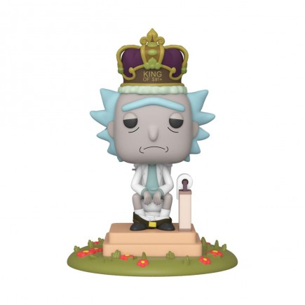 Figurka Rick and Morty - King of $#!+ (se zvuky) (Funko POP! Animation 694)