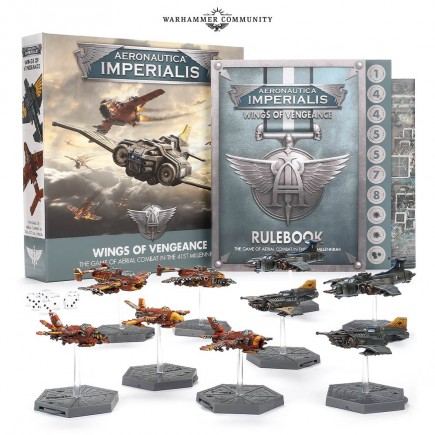 Desková hra Aeronautica Imperialis: Wings of Vengeance (starter set)