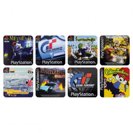 Podtácky PlayStation - Game Coasters