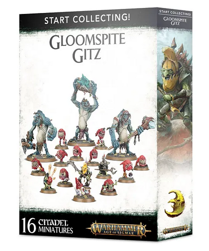 W-AOS: Start Collecting Gloomspite Gitz (16 figurek)