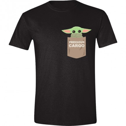 Tričko Star Wars: The Mandalorian - The Child Pocket (velikost XL)