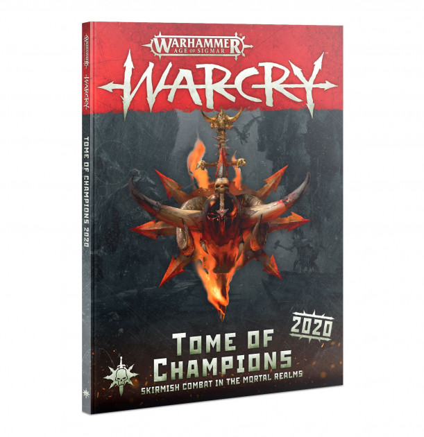 Kniha Warhammer Age of Sigmar: Warcry - Tome of Champions (2020)