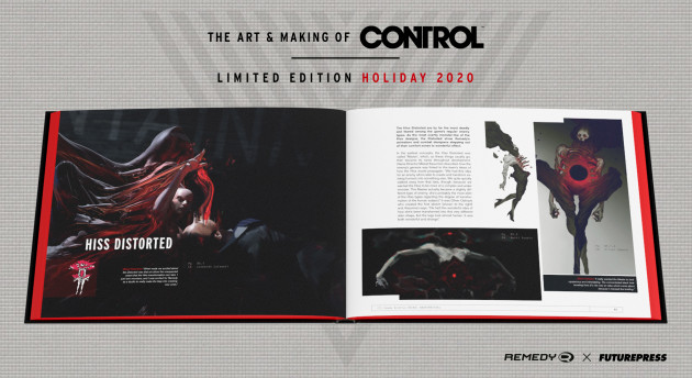 Kniha The Art & Making of Control - Limited Edition