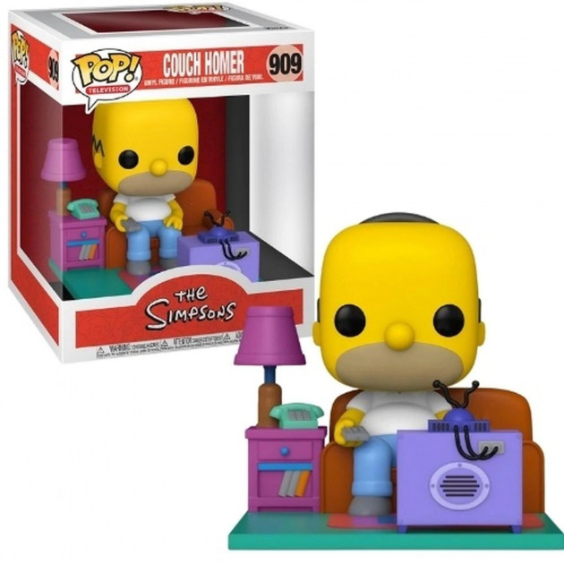 Figurka Simpsons - Couch Homer Deluxe (Funko POP! Television 909)
