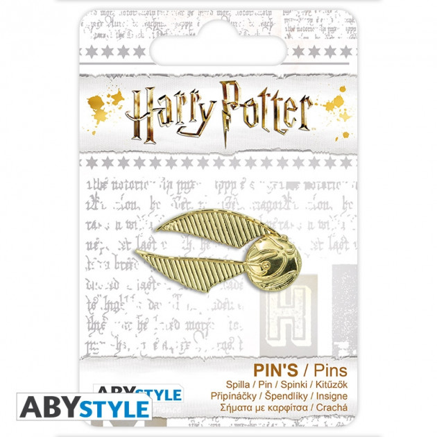 HARRY POTTER Pin Golden Snitch