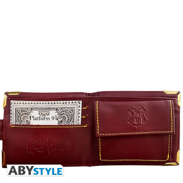 HARRY POTTER Wallet Golden Hogwarts