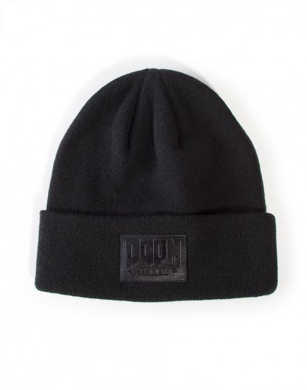 Čepice Doom Eternal - Logo Roll Up Beanie