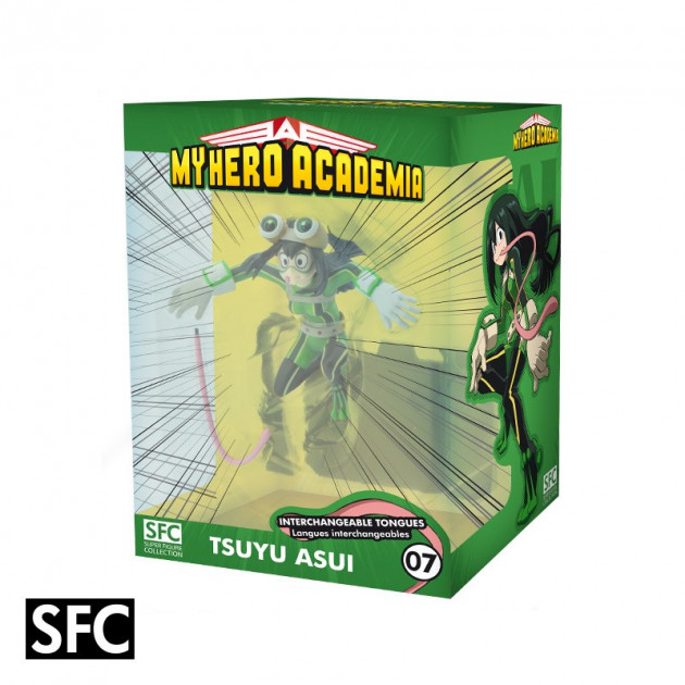 Figurka My Hero Academia - Tsuyu Asui (Super Figure Collection 7)