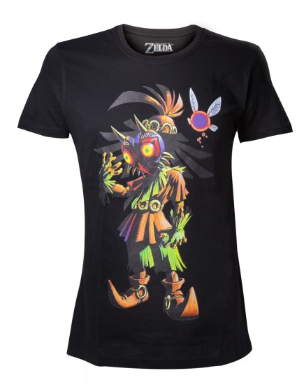 Tričko The Legend of Zelda - Majoras Mask Skull Kid (velikost XL)