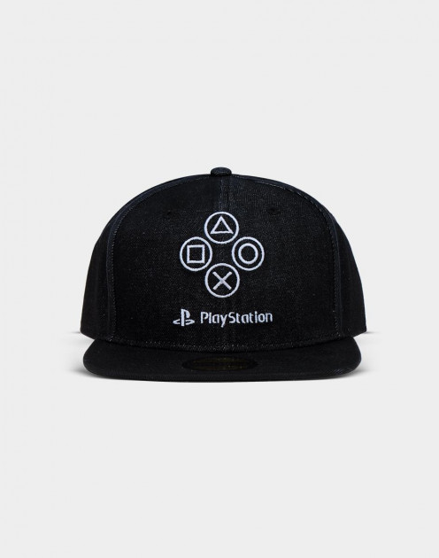 Kšiltovka PlayStation - Denim Symbols