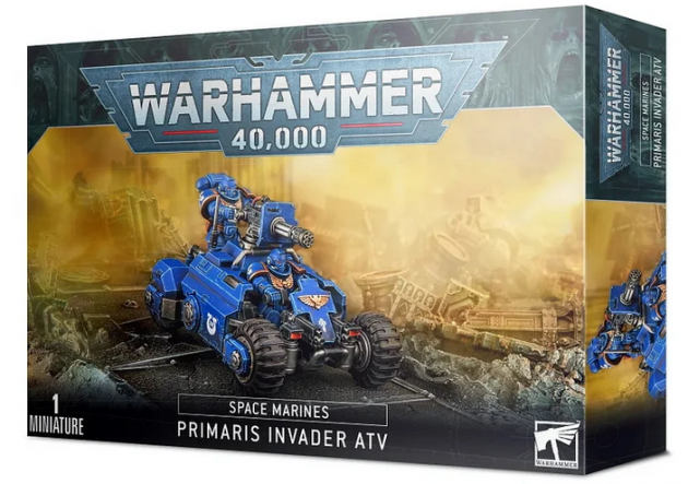 W40k: Space Marines Primaris Invader ATV (1 figurka)