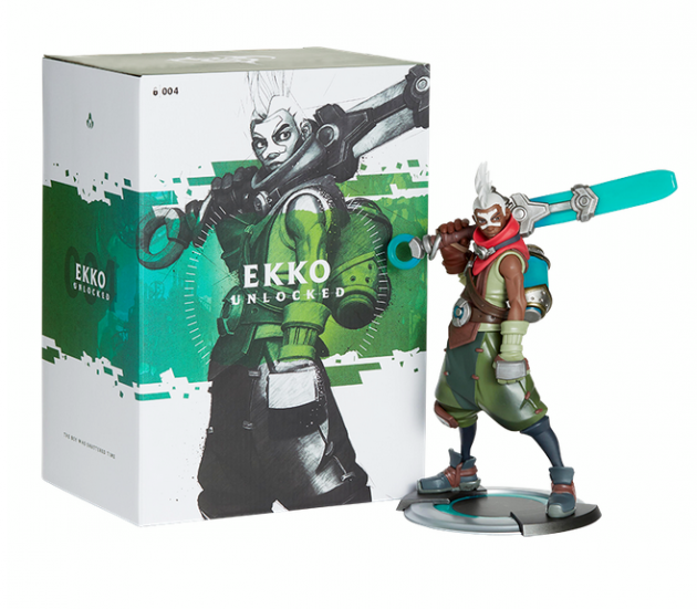 Figurka League of Legends - Ekko Unlocked (26 cm)