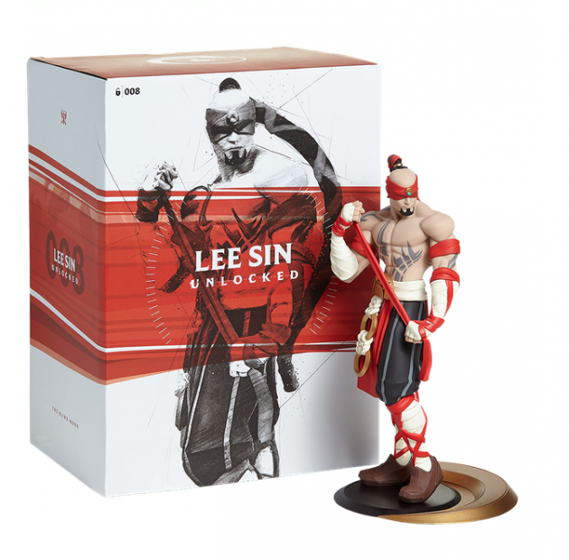 Figurka League of Legends - Lee Sin Unlocked (26 cm)