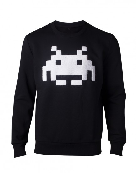 Mikina Space Invaders - Chenille Invader (velikost XL)