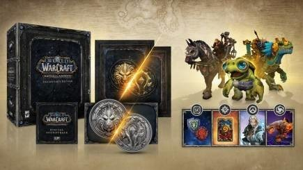 World of Warcraft: Battle for Azeroth - Collectors Edition (poškozená krabička)