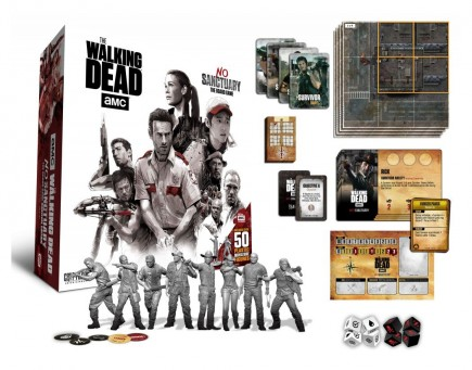 Desková hra Walking Dead Board Game No Sanctuary (EN)