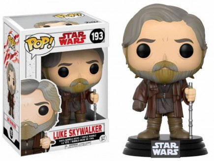 Figúrka Star Wars - Luke Skywalker (Funko POP! Bobble-Head)