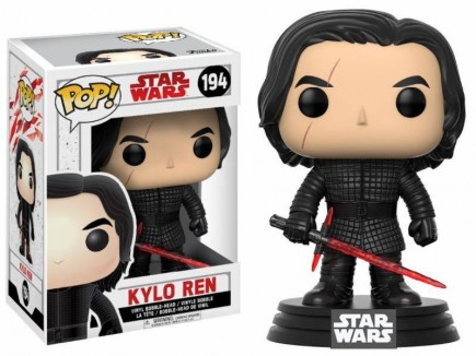 Figúrka Star Wars - Kylo Ren TLJ (Funko POP! Bobble-Head)