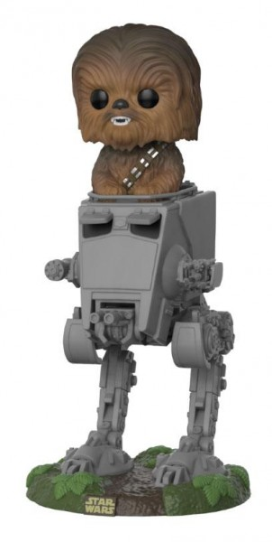 Figurka Star Wars - Chewbacca with AT-ST Deluxe (Funko POP!)