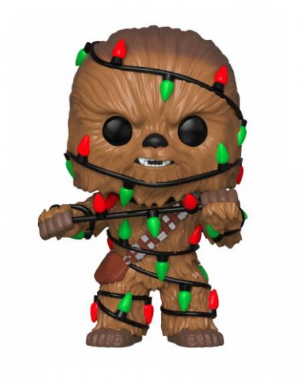 Figurka Star Wars - Holiday Chewbacca with Lights (Funko POP! Bobble-Head)