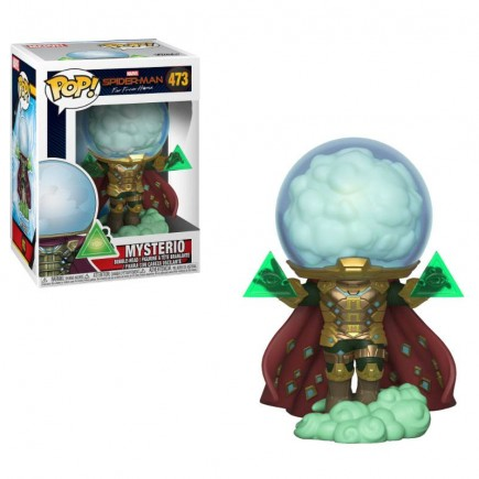 Figurka Spider-Man: Far From Home - Mysterio (Funko POP!)