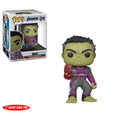 Figurka Avengers: Endgame - Hulk with Gauntlet 15 cm (Funko POP!)