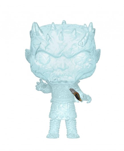Figurka Game of Thrones - Crystal Night King with Dagger in Chest (Funko POP!)