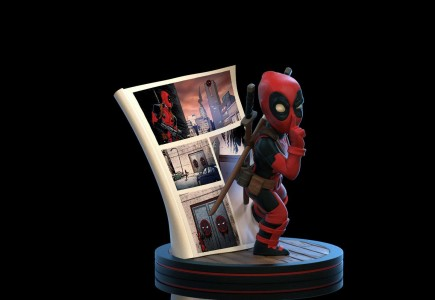 Figurka Deadpool - 4D Diorama (Q-Fig)