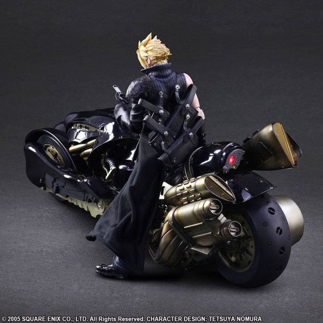 Figurka Final Fantasy VII (Advent Children) - Cloud Strife & Fenfir (Play Arts Kai)
