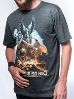 Hra pro PC tričko k předobjednávce Dawn of War 3 - Dwarfs (velikost L)