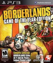 Hra pre Playstation 3 Borderlands (Game of the Year Edition)