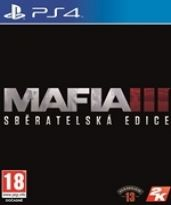 hra pre Playstation 4 Mafia III CZ (Collectors Edition)