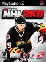 Hra pre Playstation 2 NHL 2K8