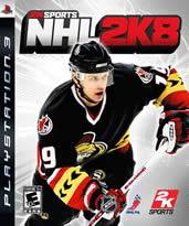 Hra pre Playstation 3 NHL 2K8