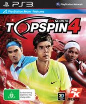 Hra pre Playstation 3 Top Spin 4
