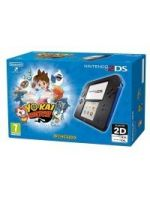příslušenství pro Nintendo 3DS Konzole Nintendo 2DS (černo-modrá) + Yo-Kai Watch