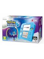 príslušenstvo pre Nintendo 3DS Konzola Nintendo 2DS (Pokemon Edition) + Pokémon Moon
